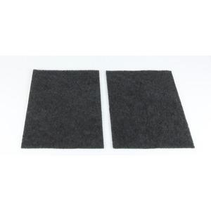 2 x Kassetten-Kohlefilter für Umluftbetrieb für UH 17182 E