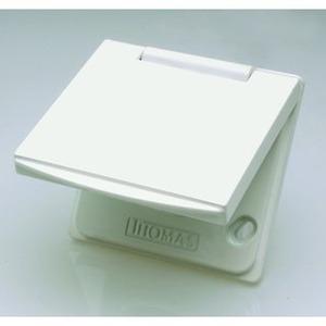 Metallsaugdose, Premium Saugdose MU1 weiß, Metall Saugdose weiß, universal
