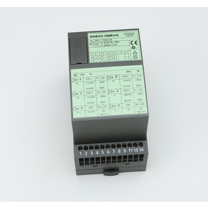 SINEAX DME442 24...60VDC/AC, Multi-Messumformer, prog.bar, 2 Zähler, 4 Analog- und 2 Digitalausg., RS232