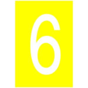 LLN-C-6, Selbstkl. Buchstaben und Zahlen Größe: 19,1x14,3mm, VPE: 25 Karten Preis per VPE