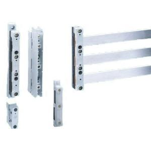 Universal-Sammelschienenträger 3-polig, mit innenliegenden Anschraublöchern