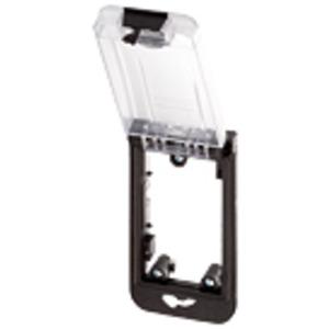 4000-68512-0000001, Modlink MSDD Einbaurahmen 1-fach transparent