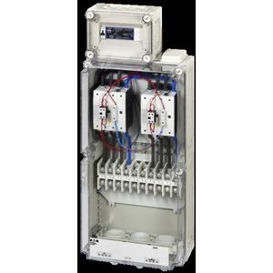 NAS160-CI-1-K95, Netz- und Anlagenschutzgerätekombination im Gehäuse, + Klemmen K95, 160 A, 4-polig