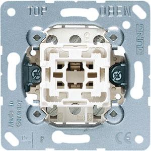503 U, Wippschalter, 16 AX, 400 V ~, Aus 3-polig