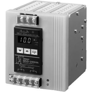 S8VS-24024A, Schaltnetzteil, 240 W, 100 bis 240 VAC Eingang, 24 VDC 10 A Ausgang, DIN-Schienenmontage, mit Digitalanzeige, NPN
