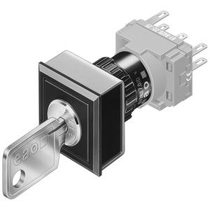 Schlüsselschalter-Vorsatz 2-St. R neutral C 311