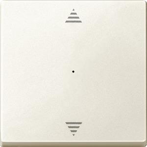 Wippe für Taster-Modul 1fach (Pfeile Auf/Ab), weiß, System M