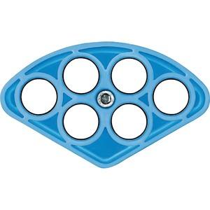 SEG 6/21, Das blaue Segment Anwendungsbereich für 6 Kabel Ø 15 - 21 mm