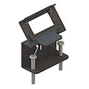 Befestigungszwinge M für Modulträger 4-fach und 6-fach 7449 000 xxx, zur nachträglichen Montage an Tischplatten von 40-80 mm Stärke