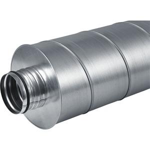 LWF S 160 - 0,9, Schalldämpfer DN 160 900 mm lang, Innen/Aussen 160/280 mm
