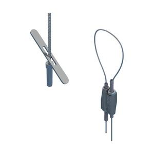 SLK15L3T, nVent CADDY Speed Link SLK mit Toggle Kippelement, 1,5 mm Stahlseil, 3 m (9,9') Länge