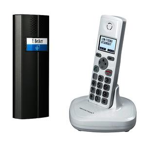 TF04 SET, Funk-Türsprechanlage mit DECT Telefon, Sprechstelle, Basis, Handset, Relaismodul