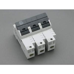 Halter für zylindrische Sicherungen22 x 58 / 3P100 A / 690 V