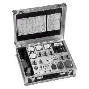 PGTK 3E, Prüfkoffer mit eingebautem;Meßgerät GE