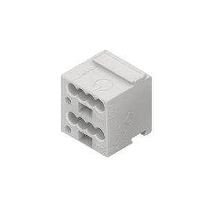 1001.8.05, MINCOM-Verbindungsklemme, Höhe 11,5 mm, Klemmbereich 0,28-0,5 mm², Kunststoff PA, RAL 3002, kaminrot