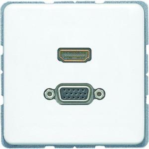 MA CD 1173 WW, HDMI und VGA, Tragring, Schraubbefestigung, bruchsicher