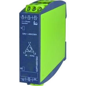 G2PF400VS02, Phasenfolge-, Phasenausfallsüberwachung, 2 Wechsler