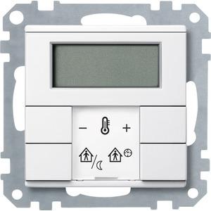 Raumtemperaturregler mit Display, polarweiß, System M