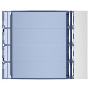 Abdeckung für Ruftastenmodule mit 4 Ruftasten von SFERA Aluminium,  Farbe: Allmetal
