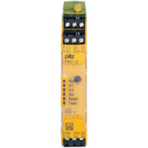 751102, PNOZ s2 C 24VDC 3 n/o 1 n/c