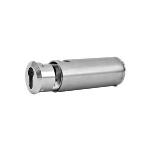 ST 56 W PHZ Up, Schlüsseltresor für Wandeinbau, Länge 138 mm, gewölbter Wandabschluss, für PHZ 10/30 mm, Edelstahl gebürstet