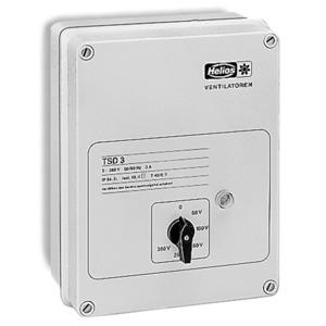 TSD 1,5, TSD 1,5, Trafo-Drehzahlsteller 3-PH, 400 V, 1,5 A