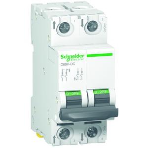 Leitungsschutzschalter C60H-DC, 2P, 0,5A, C-Charakteristik,