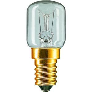 APPL 15W E14 230-240V T25 CL RF 1CT, Birnenlampe Practitone 15W E14 klar