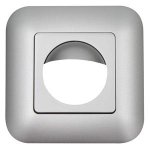 Rahmen IP20 Indoor 180 Edelstahl-Optik matt, ähnl, Rahmen IP54 zur Kombination mit den Sensoreinsätzen für die automatischen Wandschalter Indoor 180
