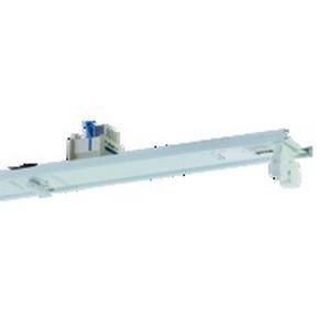 VLG-T16 235/49/80-5 EVG, Geräteträger weiß, IP20, 5-polig, 2xT16 35, 49, 80W, Multiwatt EVG, L=1486mm. Beim variablen Platzieren der Geräteträger kann es zum Zusammentreffen v