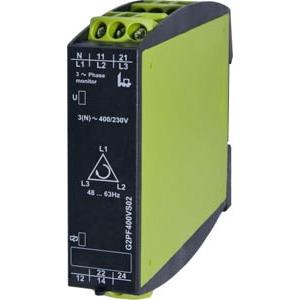 G2PF400VS02, Phasenfolge-, Phasenausfallsüberwachung, 400V, 2 Wechsler