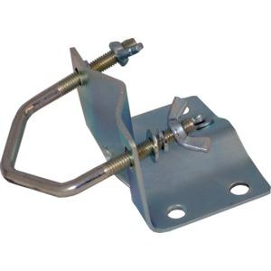 Mastfuß bis D60mm, Stahl, feuerverzinkt