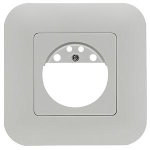 Rahmen IP20 Indoor 180 reinweiß matt, ähnlich 9010, Rahmen IP54 zur Kombination mit den Sensoreinsätzen für die automatischen Wandschalter Indoor 180