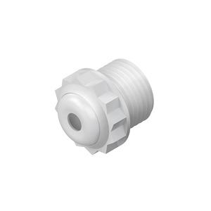485/11, Dichtungsnippel, Pg 11, für Kabel-Ø 6-10,5 mm, Kunststoff PE, RAL 7035, lichtgrau