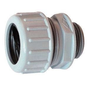 FKV-E 32, Kunststoffverschraubung FKV-E 32 grau