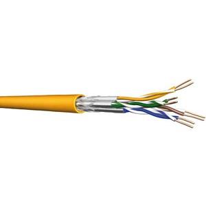 UC1200 HS23 C7A S/FTP 2x4P LSHF 500DW, Kat 7A S/FTP duplex gelb 500m