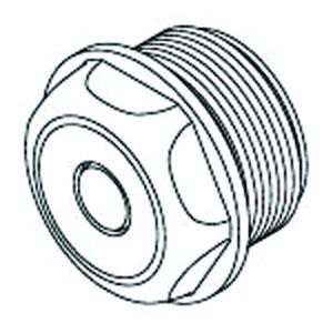 1485/29, Dichtungsstopfen, Pg 29, für Kabel-Ø 16-24 mm, Kunststoff PE, RAL 7035, lichtgrau