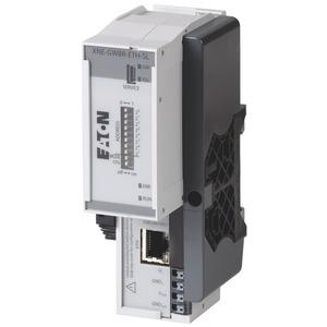 XNE-GWBR-ETH-SL, ECO-Gateway XI/ON zum Bussystem EtherNet SystemLink mit integrierter Versorgung, mit Busrefresh