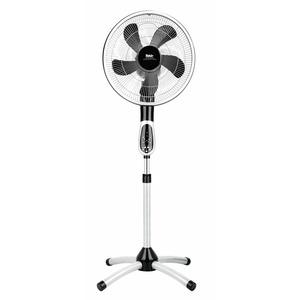 prestige VC 360° Rotating, Standventilator prestige, VC 360°, prestige, silber/dunkelgrau, 55 Watt