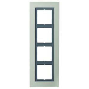 LSP 984 ES, Rahmen, 4fach, für waagerechte und senkrechte Kombination