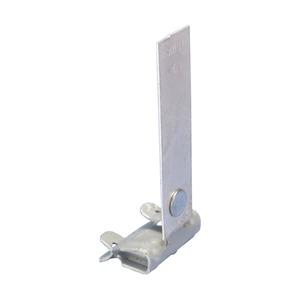 4H24ST3S1, Flanschklipp zum Aufschlagen mit Sicherungslasche, S301, 3–8 mm (1/8–1/4) Flansch