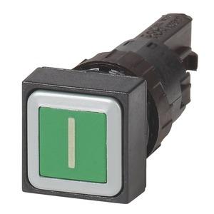 Q18D-11, Drucktaste, grün I, tastend