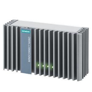 9AC2112-8BA12-0KA1, MindConnect  Nano  ist  ein Gerät  zur  Datenaufnahme  über verschiedene  Protokolle  und und  ermöglicht  die  Über- tragung dieser  Daten  an MindSp