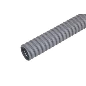 FFMSS-K 15 10 m, Schwerer Metallschutzschlauch FFMSS-K 15 10 m flexibel grau, Preis per Ring