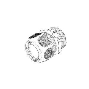 1234VM3203, IPON-Kabelverschraubung, vollmetrisch, M32, Kabel-Ø12-21 mm, Kunststoff PA, RAL 9005, tiefschwarz
