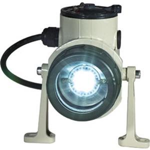 NOR 000 005 140 906, Ex-Kesselanflanschleuchte für Zone 1/21 KFL 7 LED, 230 V 5,5 W LED (inkl.), 1 x M25 Metallgewinde mit Schraubverschluss, 1 x M25 Metallgewinde mit Sta