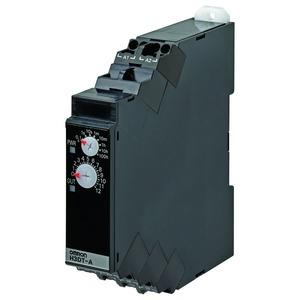 H3DT-A2 24-240VAC/DC, Zeitrelais, DIN-Hutschienenmontage, 17.5mm, Einschaltverzögerung, 0.1s-1200h, 2 Wechsler, 5A, 24-240V AC/DC, Push-In