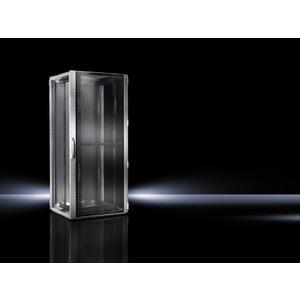 VX 5331.113, VX IT, belüftet, 19-Profilschienen standard, RAL7035, BHT 600x2200x800mm, 47HE