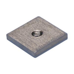 CNM6S4, Vierkantmutter für multifunktionelle C- Klammer, S304, M6 Stabgröße