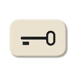 2525 TR, Tastersymbol, weiß, SI/Reflex SI, Abdeckungen für Schalter/Taster